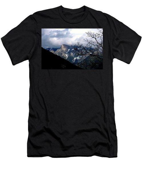 Sierra Nevada Snowy View Men's T-Shirt (Slim Fit) by Matt Harang