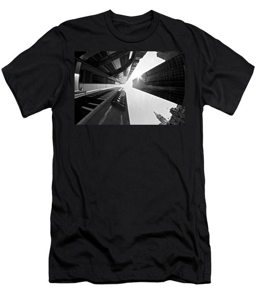 Sign In The Sky Men's T-Shirt (Athletic Fit)