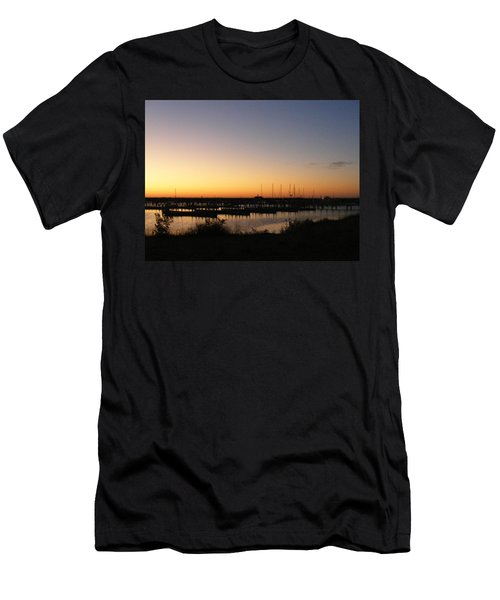 Silent Harbor Men's T-Shirt (Athletic Fit)