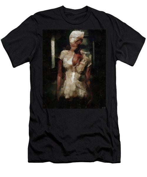 Silent Hill Nurse Men's T-Shirt (Athletic Fit)