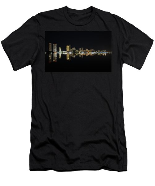 Silent Night Men's T-Shirt (Athletic Fit)