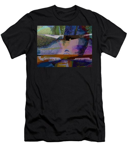 Men's T-Shirt (Slim Fit) featuring the photograph Silhouette And Shadows by David Pantuso