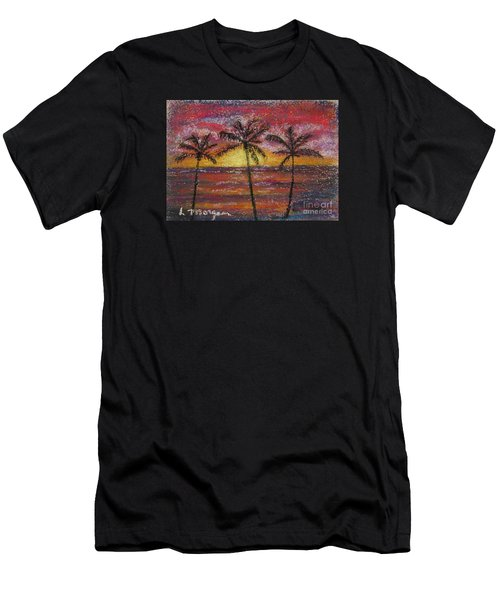 Island Silhouette  Men's T-Shirt (Athletic Fit)