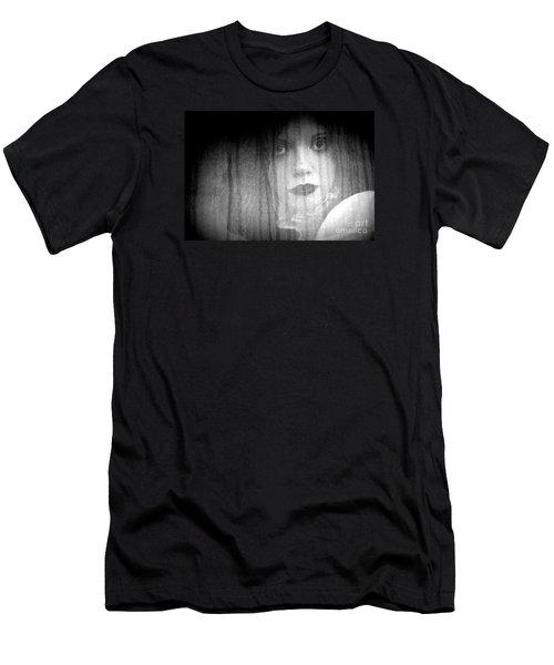 Men's T-Shirt (Slim Fit) featuring the photograph Silken Beauty by Steven Macanka