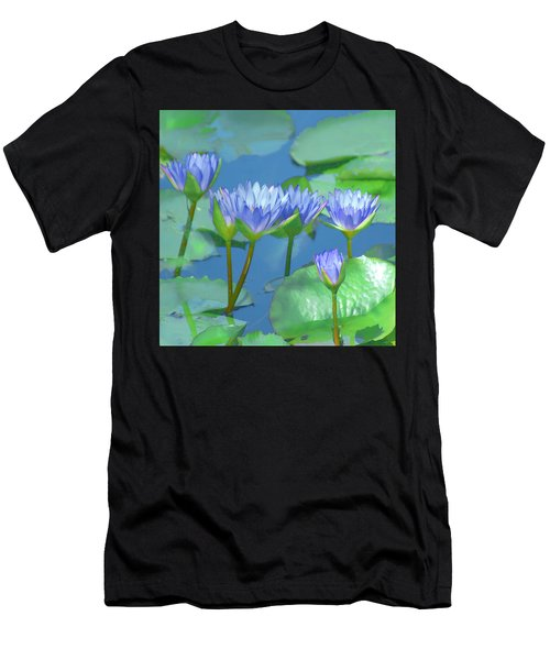 Silken Lilies Men's T-Shirt (Athletic Fit)