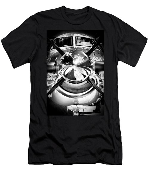 Silver 12 Men's T-Shirt (Slim Fit) by Paul Job