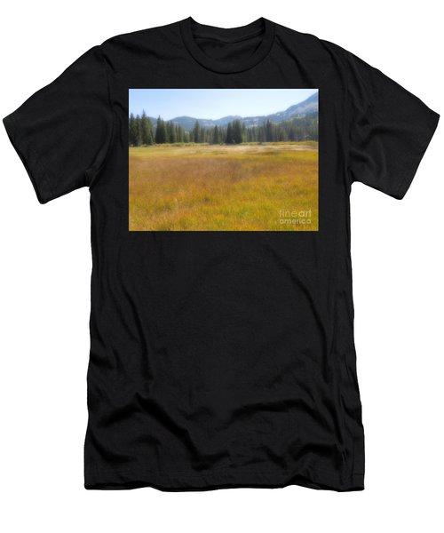 Silver Lake Area Big Cottonwood Canyon Utah Men's T-Shirt (Athletic Fit)