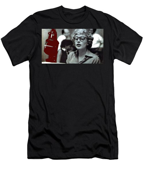 Singer Pianist Blossom Dearie  No Known Date Men's T-Shirt (Athletic Fit)