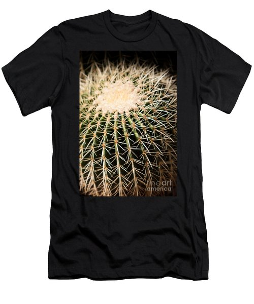 Men's T-Shirt (Athletic Fit) featuring the photograph Single Cactus Ball by John Wadleigh