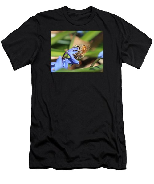 Sipping Upside-down Men's T-Shirt (Athletic Fit)