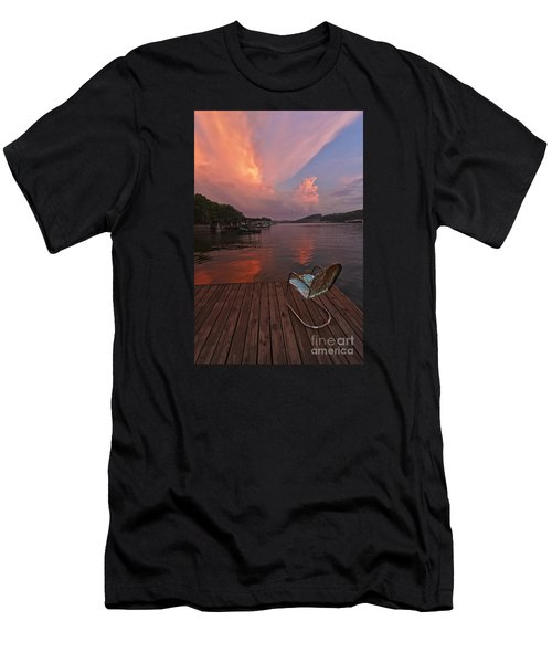 Sittin' On The Dock 2 Men's T-Shirt (Athletic Fit)