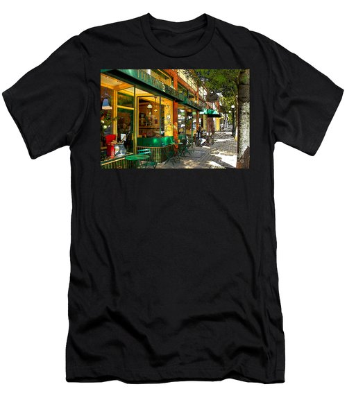 Sitting At The Bakery Men's T-Shirt (Athletic Fit)