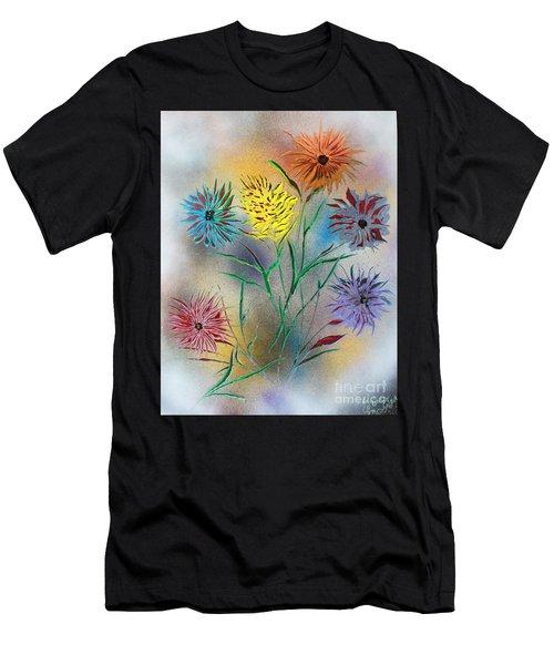 Six Flowers Men's T-Shirt (Athletic Fit)