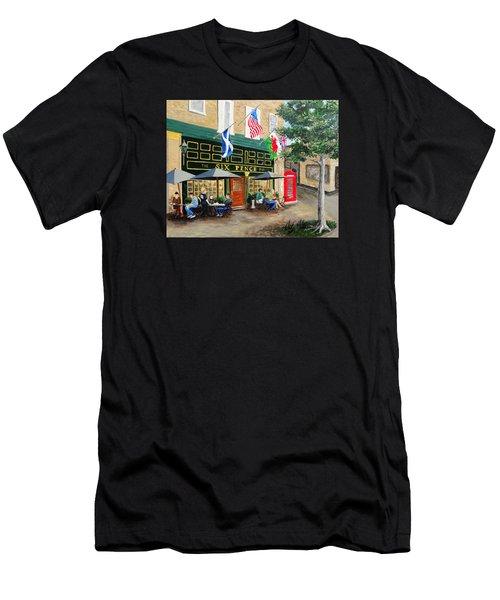 Six Pence Pub Men's T-Shirt (Athletic Fit)