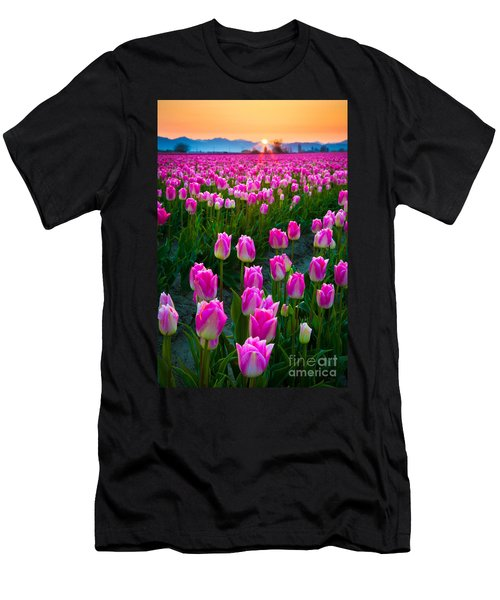 Skagit Valley Dawn Men's T-Shirt (Athletic Fit)