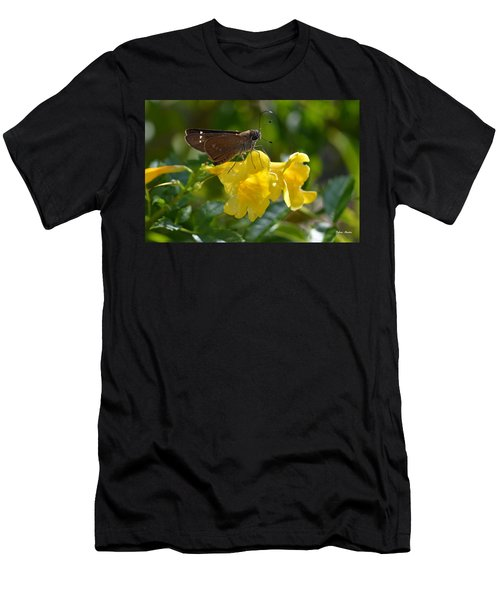 Skipper Butterfly 2 Men's T-Shirt (Slim Fit) by Debra Martz
