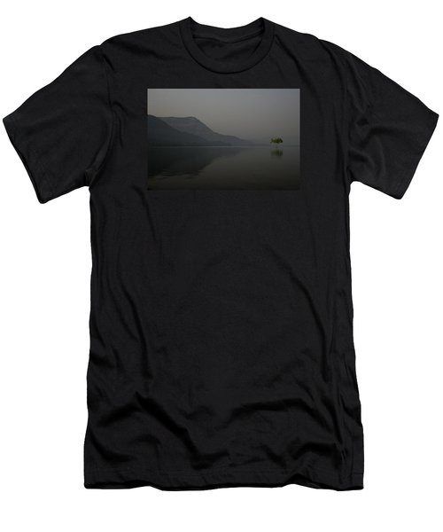 Men's T-Shirt (Slim Fit) featuring the photograph Skc 0086 Solitary Isolation by Sunil Kapadia