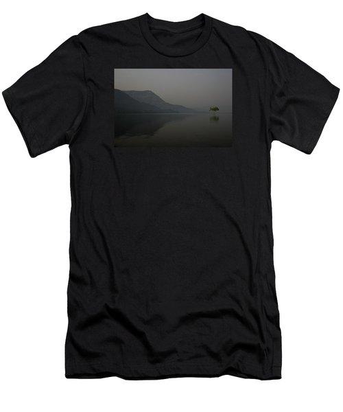 Skc 0086 Solitary Isolation Men's T-Shirt (Slim Fit) by Sunil Kapadia