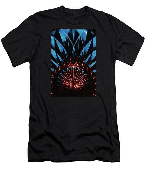 Skc 0269 Cut Glass Men's T-Shirt (Slim Fit) by Sunil Kapadia