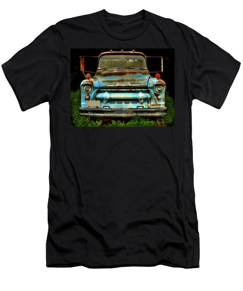 Sky Blue And Still Cool Men's T-Shirt (Athletic Fit)