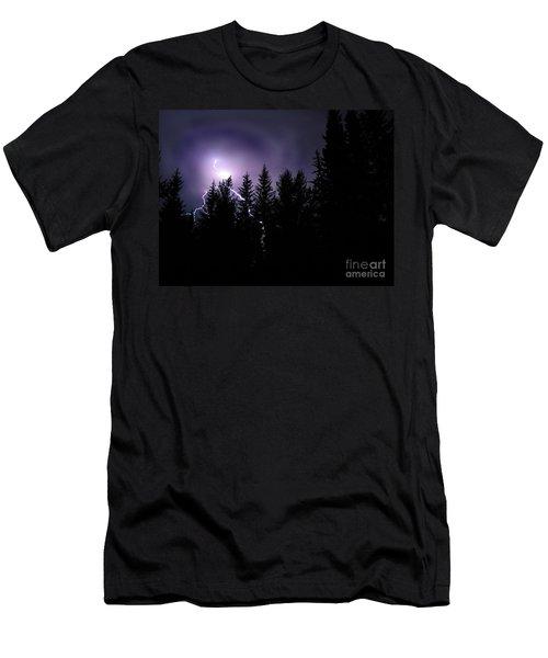 Sky Bolt Men's T-Shirt (Athletic Fit)