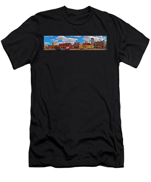 Skyline From The Inside... Detroit Men's T-Shirt (Athletic Fit)