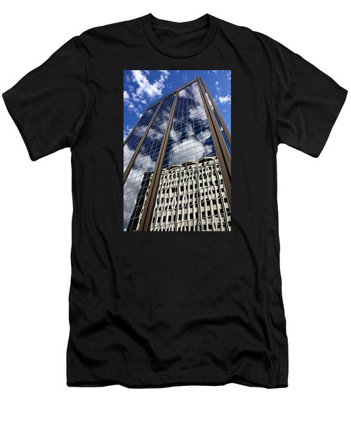 Men's T-Shirt (Slim Fit) featuring the photograph Skyward by Linda Bianic