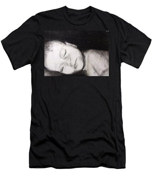 Sleeping Men's T-Shirt (Athletic Fit)