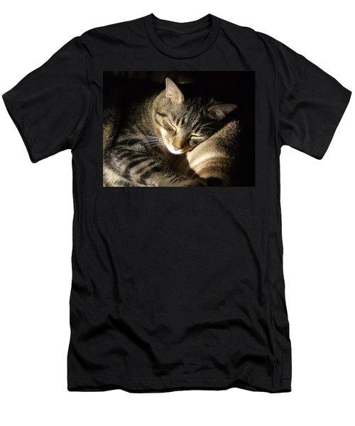 Sleeping Beauty Men's T-Shirt (Slim Fit) by Leslie Manley