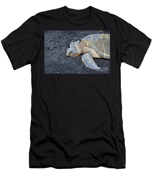 Sleepy Head Men's T-Shirt (Slim Fit) by David Lawson