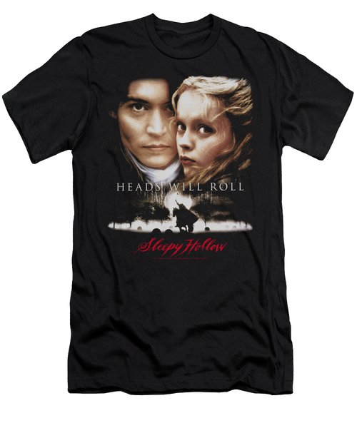Sleepy Hollow - Heads Will Roll Men's T-Shirt (Athletic Fit)