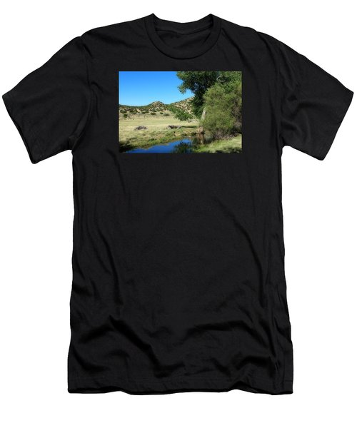 Men's T-Shirt (Slim Fit) featuring the photograph Sleepy Summer Afternoon by Elizabeth Sullivan