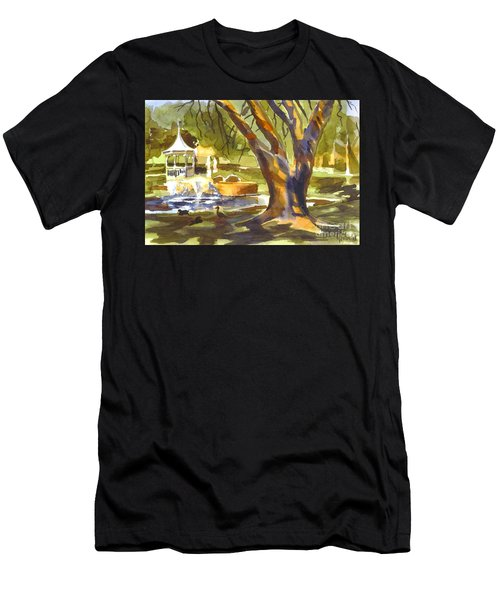 Sleepy Summers Morning Men's T-Shirt (Athletic Fit)