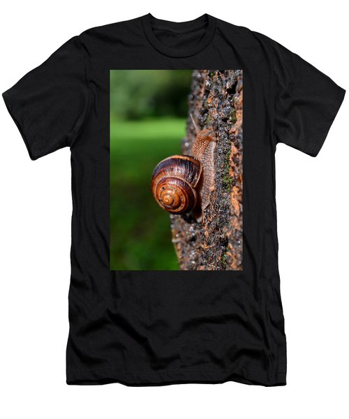 Slowly And Surely Men's T-Shirt (Athletic Fit)