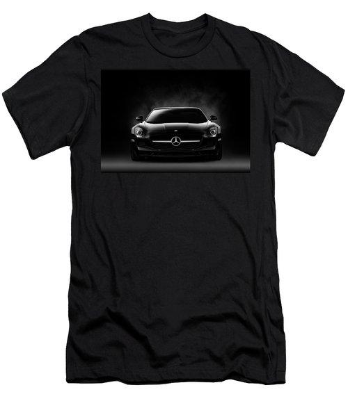 Men's T-Shirt (Slim Fit) featuring the digital art Sls Black by Douglas Pittman