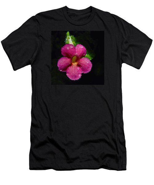 Small Beauty Men's T-Shirt (Athletic Fit)