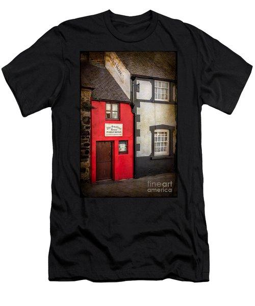 Smallest House Men's T-Shirt (Athletic Fit)