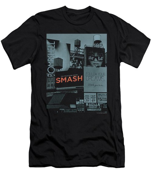 Smash - Billboards Men's T-Shirt (Athletic Fit)