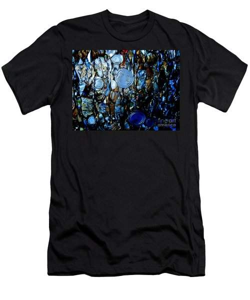 Men's T-Shirt (Slim Fit) featuring the photograph Smashed by Cynthia Lagoudakis