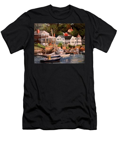 Smiths Cove Gloucester Men's T-Shirt (Slim Fit) by Eileen Patten Oliver
