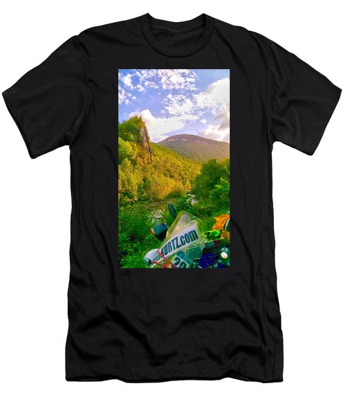 Smoke Hole Canyon Men's T-Shirt (Athletic Fit)