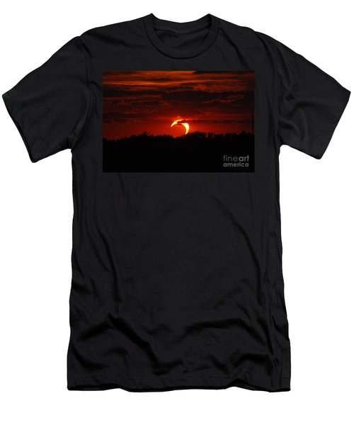 Smokin Moon Men's T-Shirt (Athletic Fit)