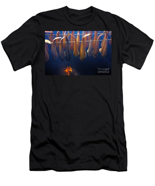 Smoking Fish Men's T-Shirt (Athletic Fit)