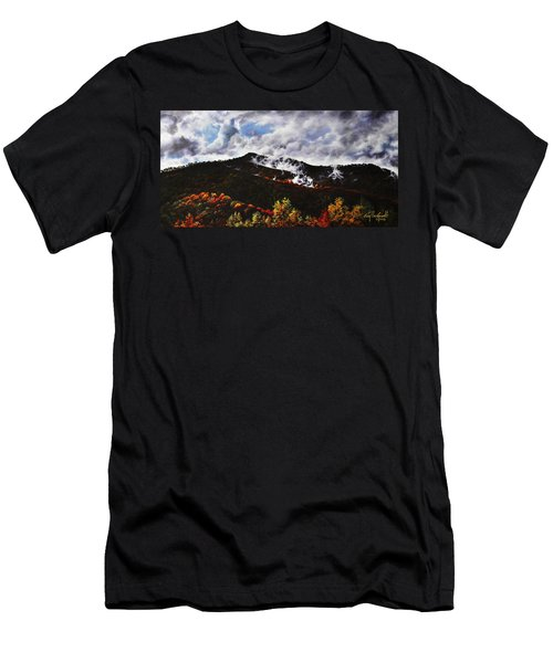 Smoky Mountain Angel Hair Men's T-Shirt (Athletic Fit)