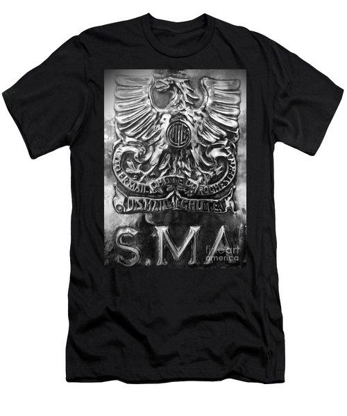 Men's T-Shirt (Slim Fit) featuring the photograph Snail Mail by James Aiken