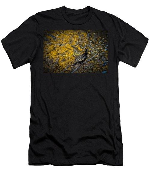 Snake Bird Men's T-Shirt (Athletic Fit)