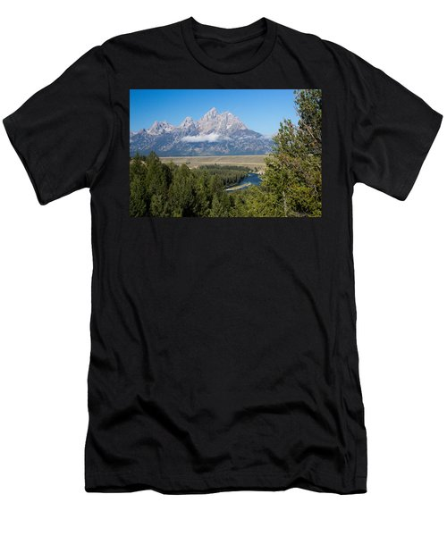 Snake River Overlook Men's T-Shirt (Athletic Fit)