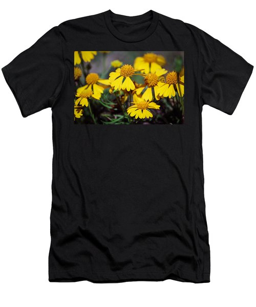Men's T-Shirt (Slim Fit) featuring the photograph Sneezeweed by Ester  Rogers