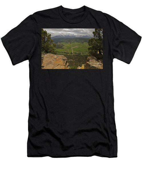 Sneffels Range Men's T-Shirt (Athletic Fit)