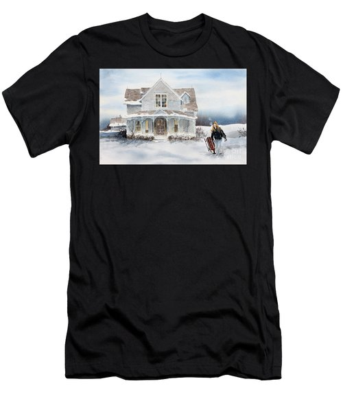 Snow Day Men's T-Shirt (Athletic Fit)